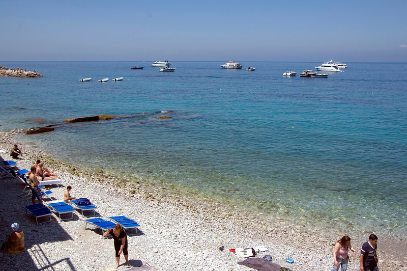 Beach on Capri