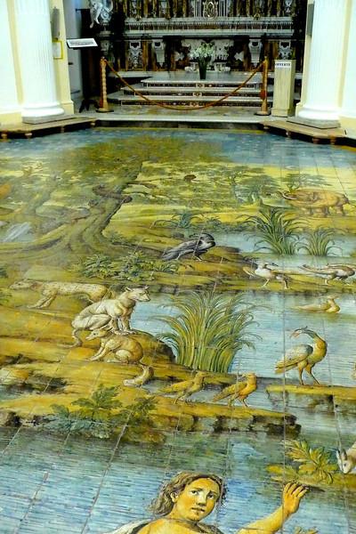 Mosais Floor #2 Chiesa St. Michel