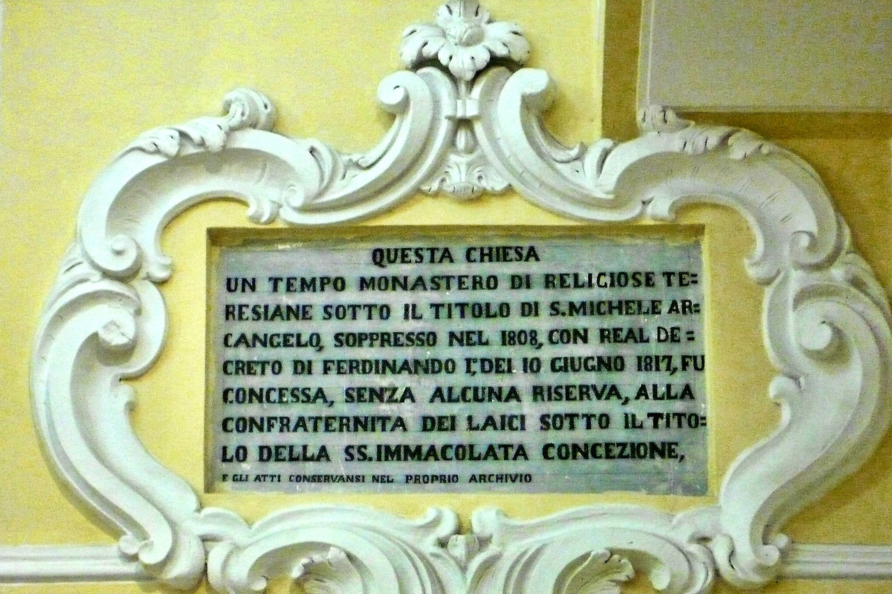 Questa Chiesa plaque