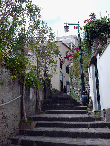 Steps in Capri
