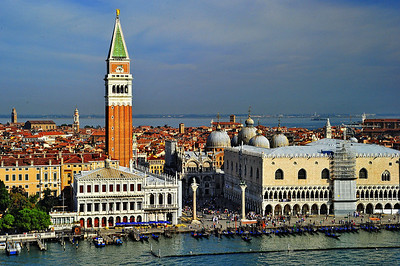 St. Marks Square:  Center of Venice