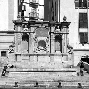 Bellerofonte fountain, Avellino, Italy
