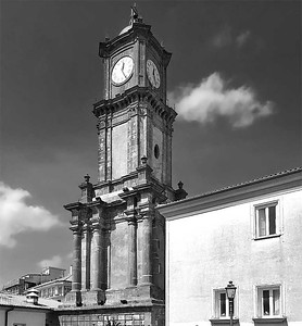 Clock tower, Avellino, Italy