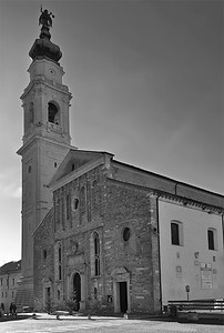 San Martino cathedral, Belluno, Italy