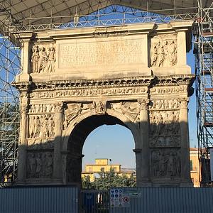 Arch of Trajan, Benevento, Italy