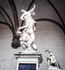 Loggia dei Lanzi, Firenze, Italy