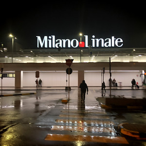 Linate City Airport, Milan, Italy