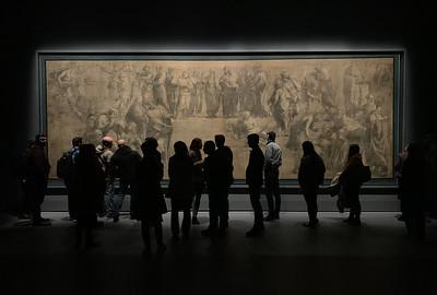 "Raphael's ""School of Athens"" (Cartoon, 1510), Ambrosiana Gallery, Milan"