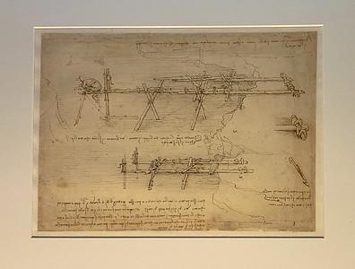 Leonardo da Vinci's Codex Atlanticus, Milan, Italy