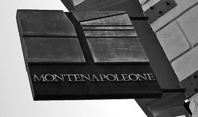 Via Montenapoleone, Milano, Italy