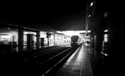 Porta Garibaldi Station, Milano, Italy