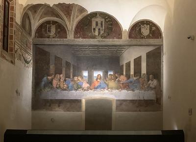 Leonardo da Vinci's Cenacolo, Milano, Italy
