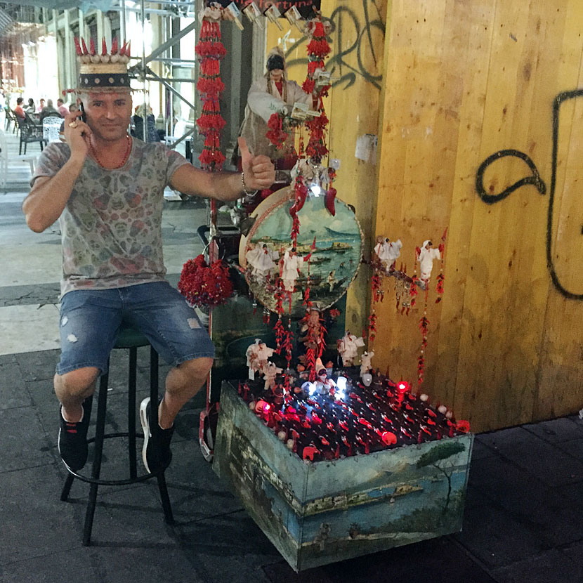 "The ""Spanish quarters"", Napoli, Italy"