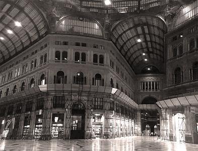 Umberto I gallery, Napoli, Italy
