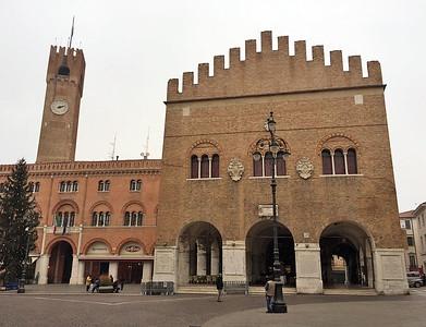 Piazza dei Signori, Trecento Palace, Treviso, Italy