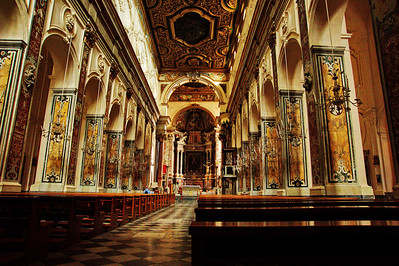The Cathedral is Baroque dating to the early 18th century.