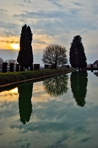"""Reflecting at Villa Adriana"" - Tivoli, Italia"