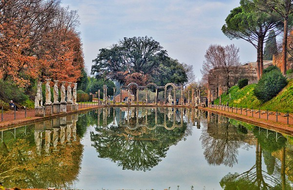 """Reflecting on Canopus"" - Villa Adriana - Tivoli"