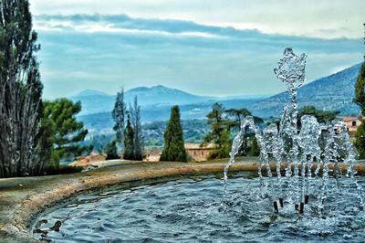"""Water Sculpture"" - Villa d'Este - Tivoli, Italia"