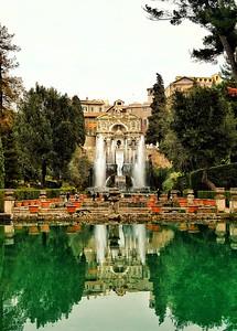 """""""Fontana di Nettuno"""" - Villa d'Este - Tivoli"""