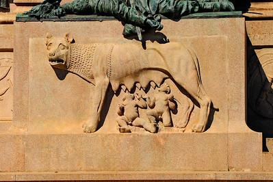 Symbol of Rome; Romulus & Remus