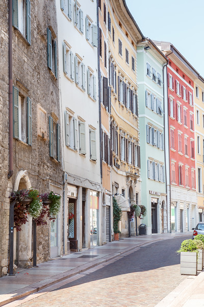 On the streets of Trento