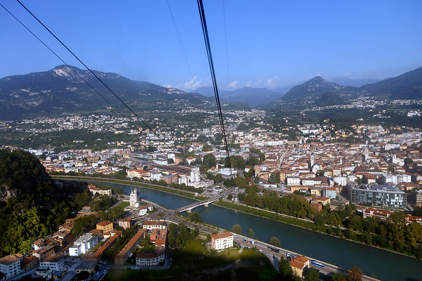 View from the cablecar