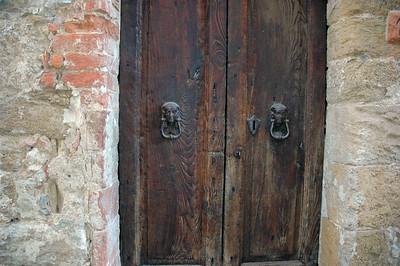 Doors at the La Costa.