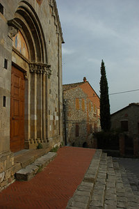 "The monks who founded the church were wool workers.  Monte a Follonica means ""place where wool is worked."""