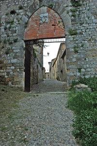 The Porta del Triano.