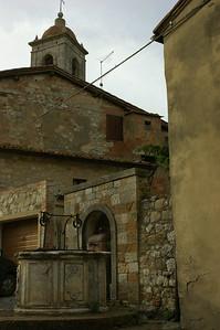 Ancient well near the Church of San Leonardo