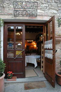 A wonderful restaurant just inside the main gate.