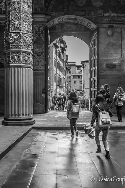 Through the Palazzo Vecchio Door