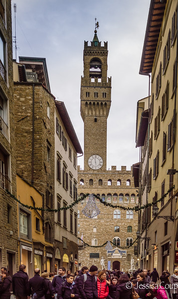 Street Leading to Palazzo Vecchio