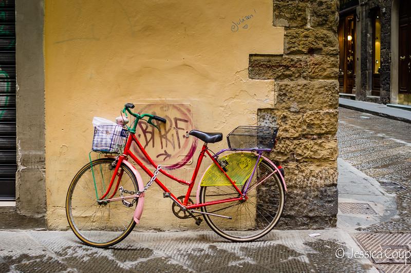 Bike on the Corner