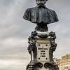 Statue on Ponte Vecchio