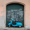 Vespa Parking at Garage 22