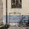 Bike Against the Bed Frame