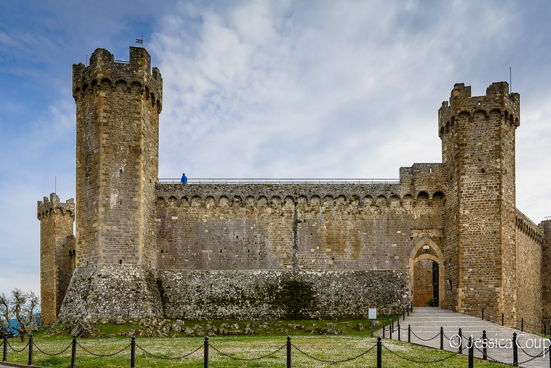 Fortress in Montalcino