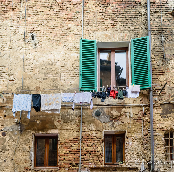 Laundry Out the Window