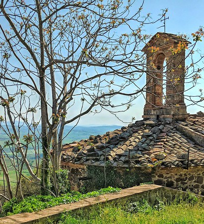 """""""Hilltop Chapel"""" - Sant'Angelo in Colle - Toscana"""