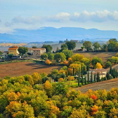 """""""Tuscany in Fall"""" - Toscana da Bagno Vignoni"""" -  Bagno Vignoni,Italia"""