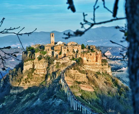 """""""Afternoon's Last Warmth"""" - Bagnoregio, Italia"""