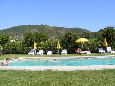 The pool - La Parrina