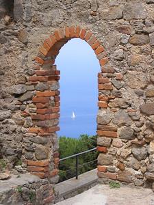 View from Giglio Castello.