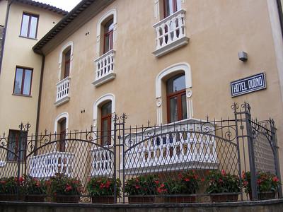 Hotel Duomo - pre-trip in Orvieto.