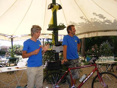Elena and Luca explain the routine