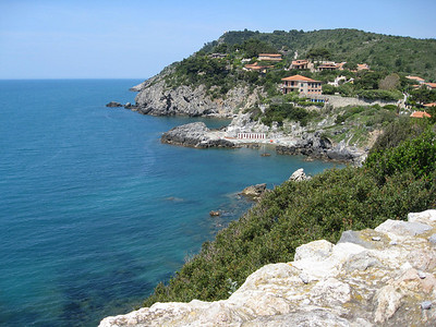 view from Talamone