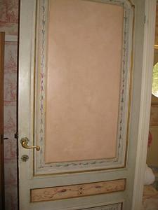 porta to the bagno at La Parrina