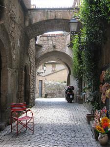 via in Orvieto